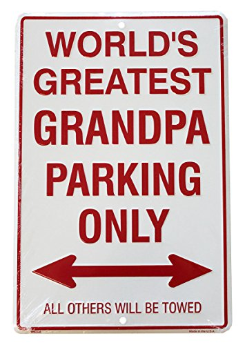 Flagline Worlds Greatest Grandpa Parking Signs