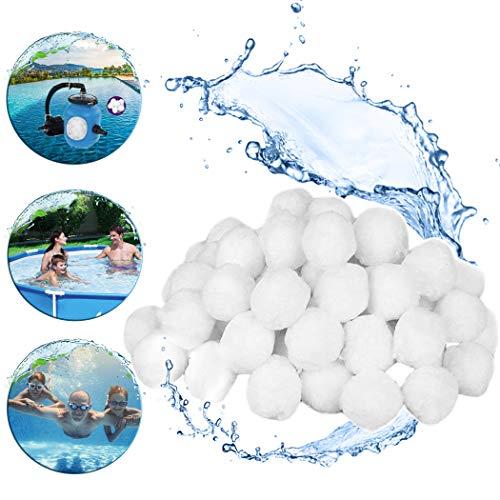 Cottonix filterballs, filterballs für sandfilteranlagen, Die Filterbälle mit 700g ersetzen insgesamt 25 kg Filtersand.