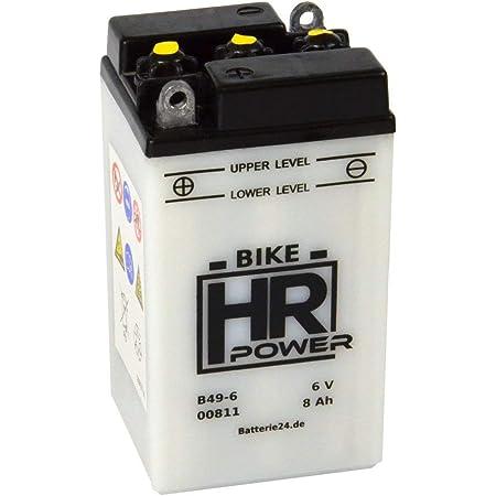 Motorrad Batterie Starterbatterie 6v 8ah B49 6 00811 Auto