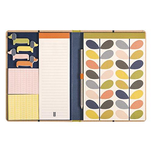 Orla Kiely | Sketchbook & Sticky Notes Set | Linear Stem Design