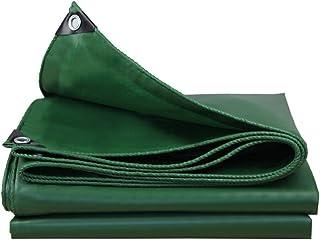 YXSDD Rainproof Cloth Thick Tarpaulin Canvas Waterproof Sunscreen Tarpaulin Truck Car Tarpaulin Awning Cloth Insulation Ou...