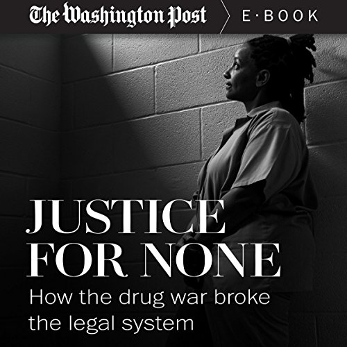 Justice for None audiobook cover art