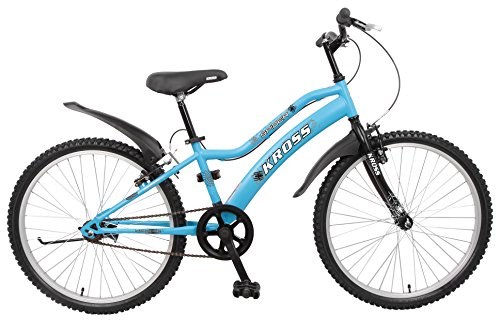 Kross Spider Single Speed Blue Bicycle 24T (9 to 13 Years)