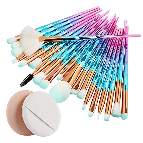 20 Teiliges Make-Up-Pinselset, Neues Angebot Kosmetik-Multifunktions-Make-Up-Pinsel ErröTen Lidschattenpinsel Professioneller Anzug-Werkzeugsatz make-up-pinsel-set