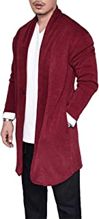 Men's Fashion Cardigan Sweater Long Sleeve Autumn Winter Casual Knitwear Tops