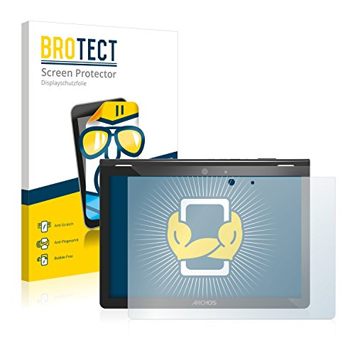 BROTECT Schutzfolie kompatibel mit Archos 101 Magnus Plus (2 Stück) klare Bildschirmschutz-Folie