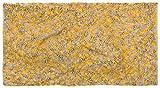 styleBREAKER Cinta para el Cabello de Mujer Tejida con un Nudo en zig-Zag, Cinta para el Cabello en Invierno, Cinta para el Cabello 04026053, Color:Curry-Gris