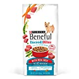 Purina Beneful IncrediBites Dry Dog Food, For Small Dogs, With Real Beef, 3.5 Lb Bag