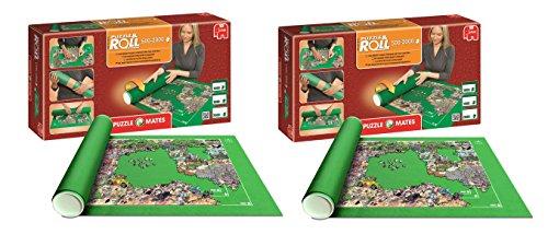 Outletdelocio. Pack 2 Puzzle Roll 2000. Tapete Universal para Transportar/Guardar Puzzles hasta 2000 Piezas.  01012