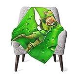 Tinker-Bell Baby Blanket Fluffy Blanket for Kids Unisex Throw Blanket Super Soft Warm Kids Blanket for Crib Couch Chair Living Room Travel -One Size