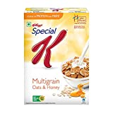 Kellogg's Special K Multigrain Oats & Honey, Breakfast Cereals, 435g