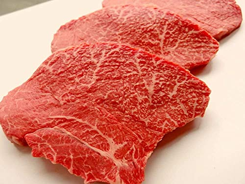 厳選 [ 黒毛和牛 雌牛 限定 ] あっさり 赤身モモ ステーキ 180g 4枚