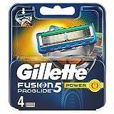 Gillette Fusion 5 ProGlide Power - Cuchillas de afeitar para hombres, 4 unidades