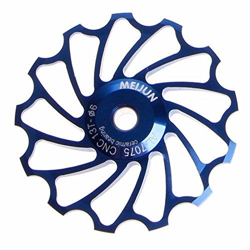 SOMESHINE 13T MTB Ceramic Bearing Wheel Pulley Road Bike Bicycle Rear Derailleur