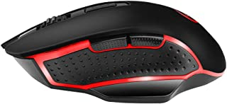 Docooler G821 Gaming Mouse Wireless Mouse Adjustable 2400DPI Optical Computer Mouse 2.4Hz Mice for PC Laptop