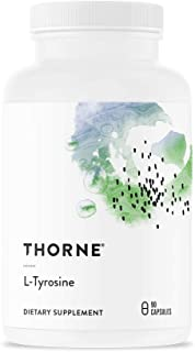 Thorne Research - L-Tyrosine - Amino Acid Supplement to Support Production of Dopamine and Norepinephrine - 90 Capsules