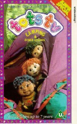 Tots TV-Camping [VHS]