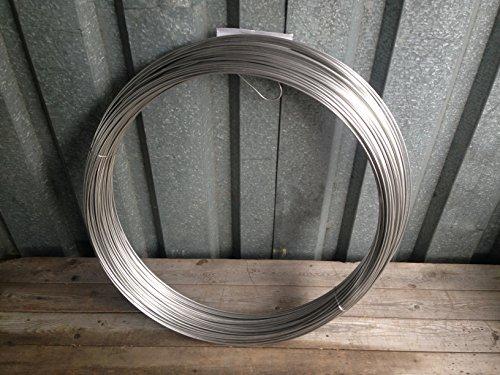 Edelstahldraht rostfrei 3,0 mm biegsam V2A 1.4301 1m x 3mm