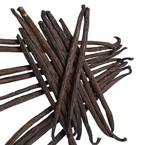 Gousses de vanille noire gourmet de Madagascar - Taille: 12 à 14 cm (5)