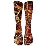 Style Unisex Socks Casual Knee High Stockings Steampunk Watch Cotton Socks One