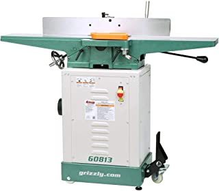 "Grizzly Industrial G0813-6"" x 48"" Jointer with Economy Stand"