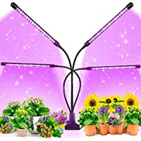Ezorkas 9 Dimmable Levels Grow Light with 3 Modes