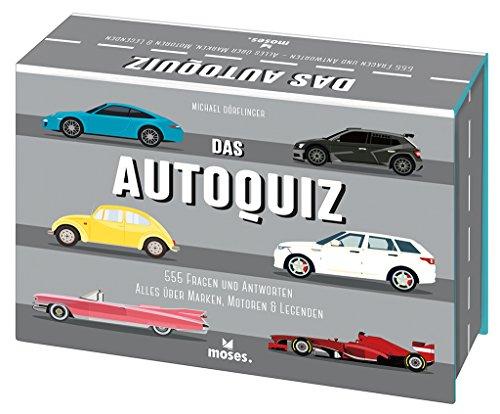 Das Autoquiz: 555 FRAGEN UND ANTWORTEN (Quiz-Boxen)