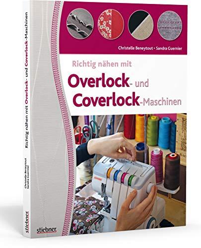 Richtig nähen mit Overlock- und Coverlock-Maschinen. Tipps und Tricks für das Nähen mit der Overlock und Cover Nähmaschine. Von Einfädeln über Fehlerkorrektur bis zu fertigen Projektideen.
