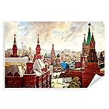Postereck - 1780 - Moskau, Russland Kreml Stadt Gebäude