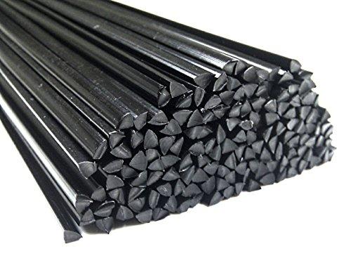 Kunststoffschweißdraht POM 4mm Dreikant Schwarz 25 Stäbe