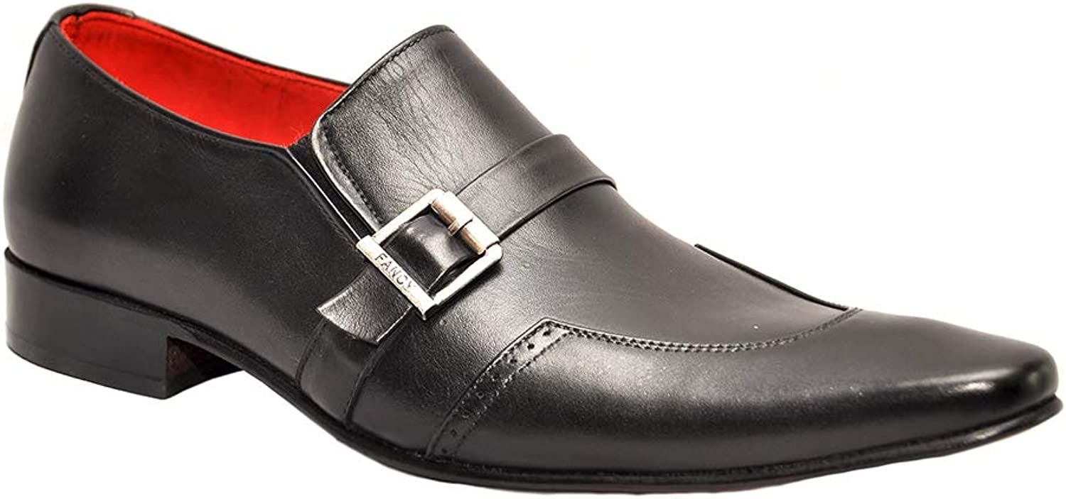 Johny Weber Handmade Leather Oxford Style Men Formal shoes with Hand Welted Construction Black