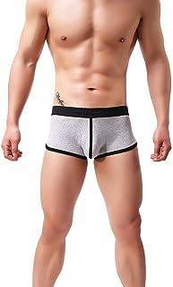 UJUNAOR Men's Casual Underwear Set