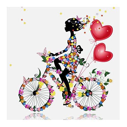 domybest 5d bicicleta tuercas diamante bordado pintura de punto de cruz–imagen de la casa artesanía