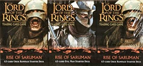 The Lord of the Rings TCG Rise of Saruman Deck (set of 2)