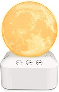 White Noise Machine & Night Light 2-in-1, Noise Sounds Machine for Sleeping, Thinking, Focus and Relaxing, Sleep Therapy f...