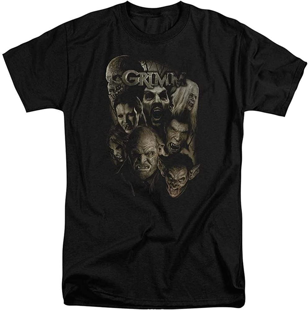 Grimm Wesen Adult Tall Fit T-Shirt