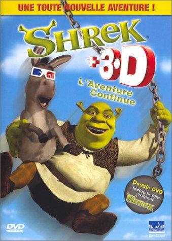 Shrek 3D, L'Aventure continue - Édition Spéciale [inclus 2 paires de lunettes]