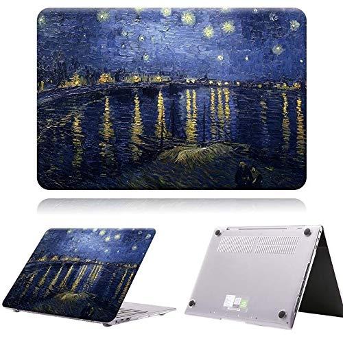 JUFENGYAO Stampa Pittura Dura del PC Portatile Anti-graffio Copertura for Huawei MateBook X PRO 2019 13,9/13 MateBook 14 / MateBook D14 D15 (Colore : B, Size : Matebook D 15)