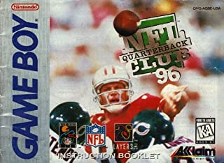 NFL Quarterback Club 96 GB Instruction Booklet / Manual (Nintendo Game Boy Manual Only)