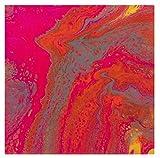 Marabu 12320016885 – Pouring Fluid Acrylmedium, Dünnflüssiges Medium für Gießanwendungen und Fließtechniken, verbessert die Verlaufseigenschaften von Acrylfarben, nicht vergilbend, 750 ml - 7