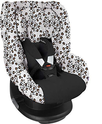 Dooky 126833 Housse pour siège Seat Cover Group 1 Little Leopard Gris 200 g