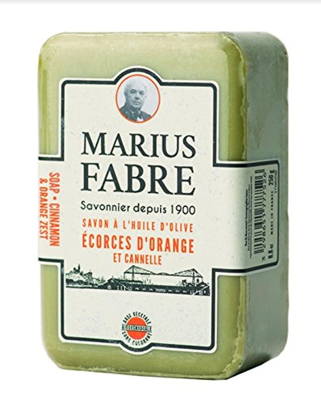 迫害する摩擦完璧なサボンドマルセイユ 1900 シナモンオレンジ 250g