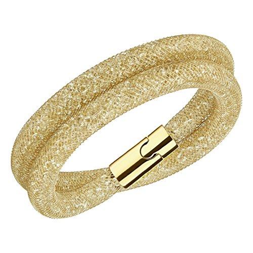 Swarovski Damen-Armband Kunststoff/Metall Swarovski Kristalle One Size 86875586