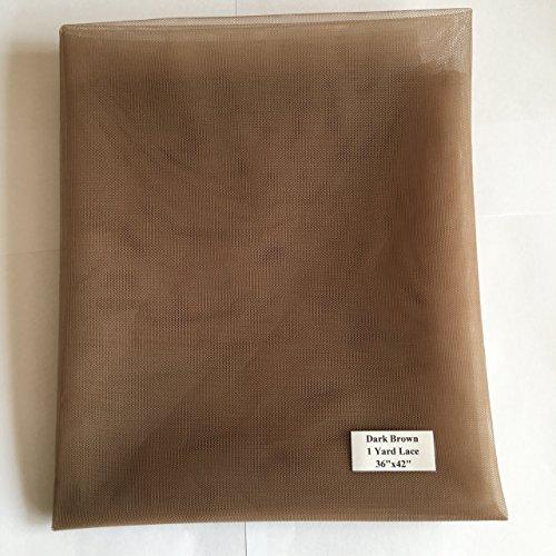 Cupidlovehair - Filet de fine dentelle suisse uniquement pour la fabrication de perruque en dentelle, fermeture en dentelle, bonnet de perruque en dentelle, dentelle frontale, bonnet de postiche