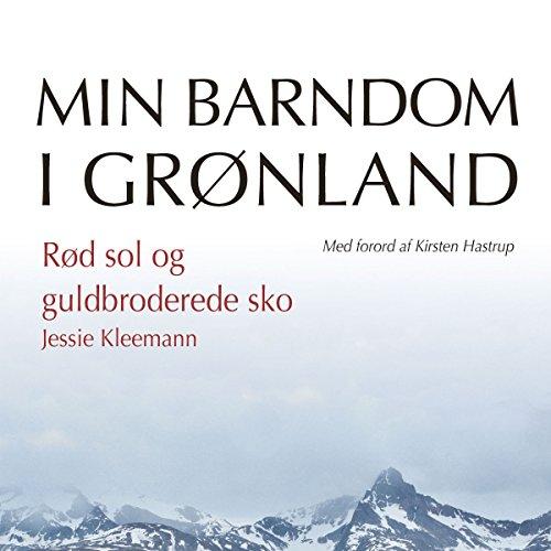 Rød sol og guldbroderede sko audiobook cover art