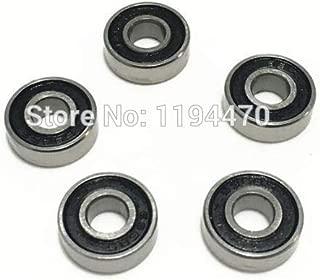 Ochoos 10pcs 638-2RS 638RS 638 RS 2RS 8x28x9mm Rubber Sealed Deep Groove Ball Bearing Miniature Bearing