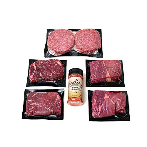 Aged Angus Top Sirloin and Premium Ground Beef Patties by...