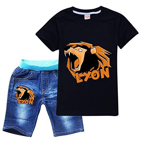 Lyon Youtuber Italia langolino di Spina ARTIST Nuova T-Shirt di Anna del Team WGF Lyon Maglietta Novita