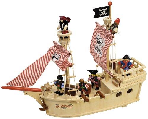 Tidlo T-0094 - Piratenschiff, Spielwaren