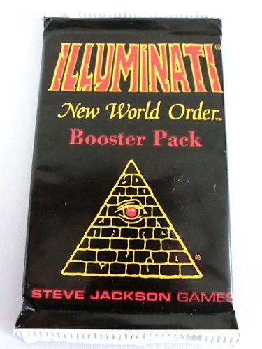 1994 Illuminati New World Order INWO Limited Edition Illuminati Card Booster Pack 1 pack (15 pieces) (japan import)